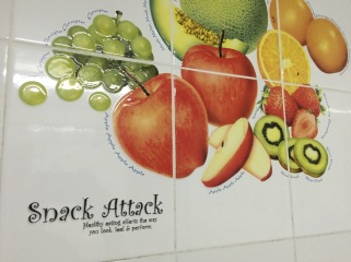 Eat healthy and feel good! Thanks, Kitchen Tiles!